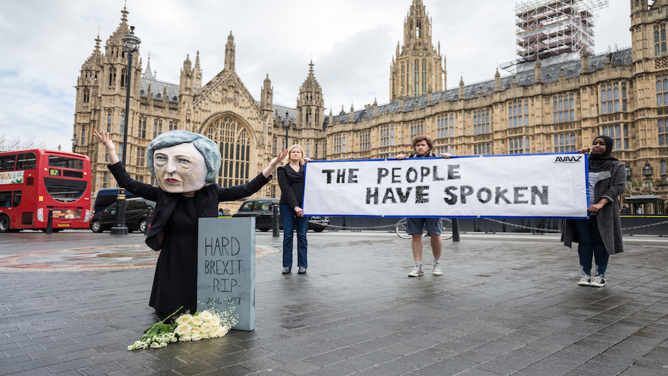 <strong></strong>After May's stunning defeat, what now? We've no choice: a second referendum